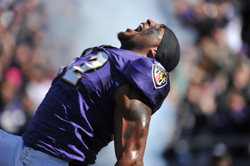 Ray Lewis is going to have a tough task ahead of him when the Ravens head to Pittsburgh.