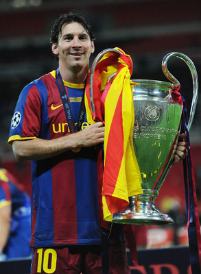 It is possible for Messi to become the All-Time UCL Winner. 3 down, 4 to go.