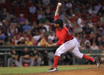 McDonald on the mound epitomized the state of the Red Sox pitching staff.