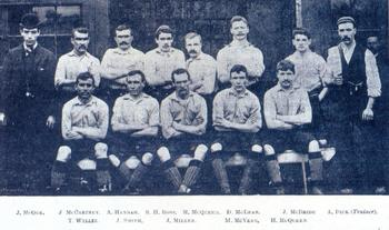 Liverpool Football Club, 1892 (Photo courtesy lfchistory.net)