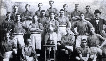 1901 League Champions Liverpool FC  (Photo courtesy lfchistory.net)