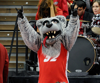 Lobo Louie offers one the best supported basketball programs in the nation, a state flagship, a compelling media argument, a good sized city with no pro competition and a football program lacking only better Texas recruiting from competing.