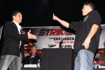 Nick Diaz being classless again.