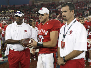 Case Keenum and Houston  could pile on more accolades and perhaps an at large BCS bid.