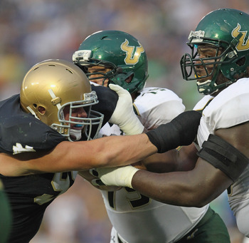 The USF Bulls had no problem going toe to toe in South Bend, walking away with a victory.