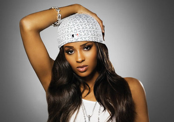 Ciara even makes the MLB cap sexy