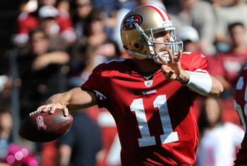Alex Smith and the Niners are 6-0-1 ATS and 3-0 in the east.  Change is inevitable.