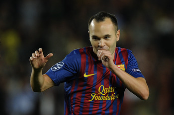 Iniesta Sucks His Thumb As Boredom Takes Over - Too Easy