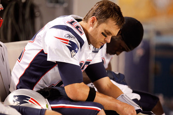 Tom Brady's expression seems appropriate for a member of what will now surely be viewed as a vulnerable No. 1 playoff seed.