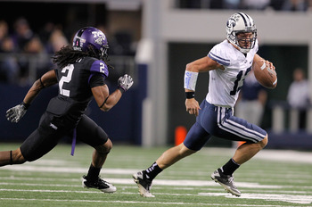 Nelson on the run against TCU