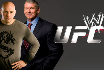 UFC President Dana White and WWE CEO Vince McMahon.