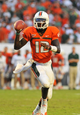 Miami QB Jacory Harris.