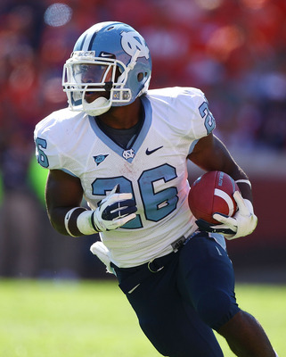 North Carolina RB Giovani Bernard.