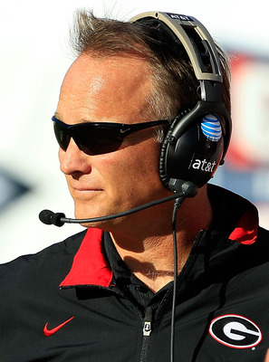 Georgia head coach Mark Richt.