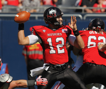 Northern Illinois QB Chandler Harnish.