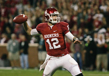 Oklahoma QB Landry Jones.