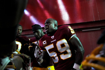 London Fletcher, Redskins