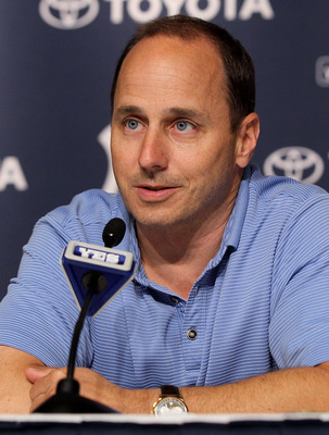Yankees' GM Brian Cashman.