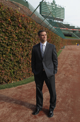Cubs' President of Baseball Operations Theo Epstein.