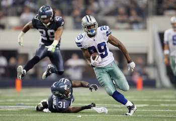 DeMarco Murray: No injury bug yet.