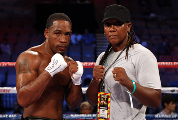 James Kirkland (boxer) and Ann Wolfe (trainer)