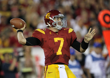 Matt Barkley is the only quarter that has led a team to score more than 21 points against Stanford this season.