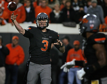 Brandon Weeden has led Oklahoma State to a 9-0 start.