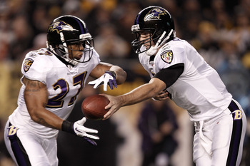 Joe Flacco and Ray Rice need to work in tandem to improve both of their games