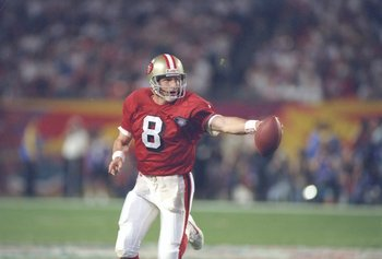 Steve Young threw 6 TD passes in Super Bowl XXIX.