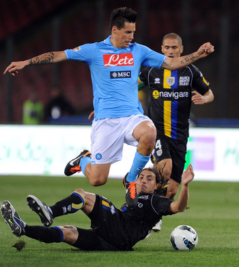 Marek Hamšík may be an expensive, but attractive target for Sir Alex