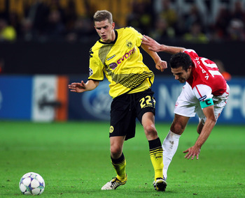 Bender was a part of last season's Dortmund side who stormed the Bundesliga