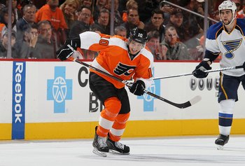 Already, Schenn seems to be in some pain.