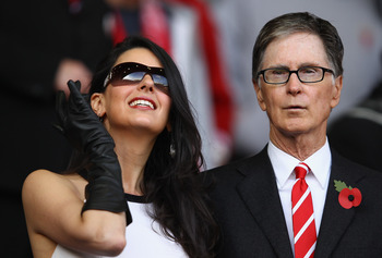 John Henry has probably spent more than £35 million on his wife