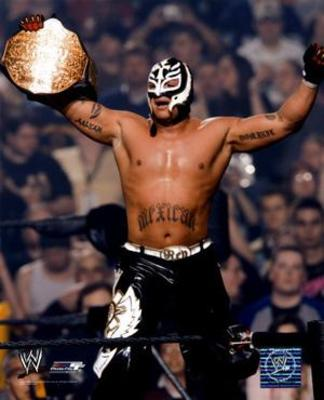 Rey Mysterio living his golden days
