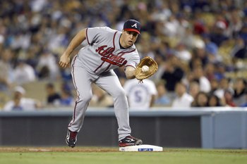 Mark Teixeira had a great run in a Braves uniform before being traded for little in return.