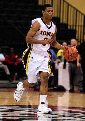 Iona point guard Scott Machado will be a key part to Iona claiming a MAAC championship this season.