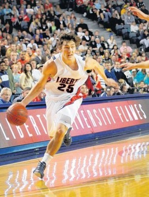 Liberty's Jesse Sanders has triple-double potential.