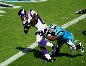 The Panthers have struggled against the run in 2011.