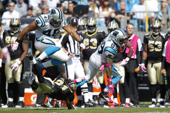 Steve Smith (89) is the Carolina Panthers' best playmaker.