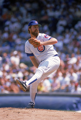 Once with the Chicago Cubs, Sutcliffe was in his prime and had matured into an excellent pitcher.