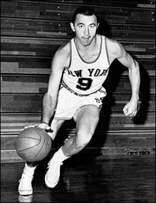 Richie Guerin was one of the first star players to play for the Knicks.