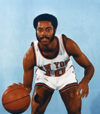 Walt Frazier was the starting point guard for the Knicks only two championship teams.