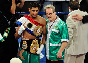 Amir Khan is another Freddie Roach protege.