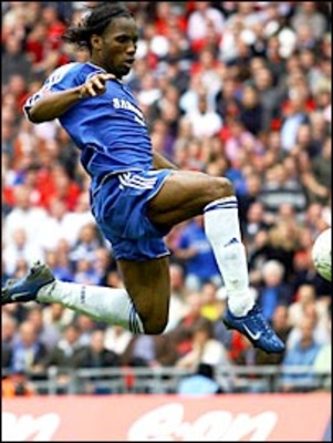 Drogba would score the only goal in the first FA Cup final back at Wembley.