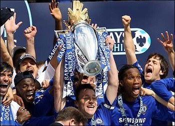 The win over United meant Chelsea were champions again.