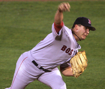 Keith Foulke threw the pitch that clinched the Boston Red Sox World Series title in 2004