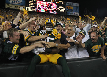 There's always room for one more with Packer fans, Lambeau Field, Green Bay