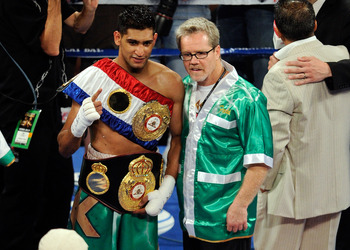 Amir Khan is a protege of long-time Mayweather nemesis Freddie Roach.