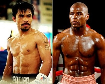 Manny Pacquiao and Floyd Mayweather Jr. have faced four common opponents.