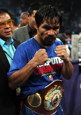 Manny Pacquiao beat De La Hoya and Hatton in more impressive fashion than his nemesis Mayweather.